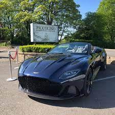 Aston Martin Dbs Superleggera Midnight Blue Supercars Gallery