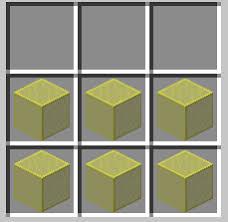 glass pane minecraft. 6 Yellow Stained Glass Pane Minecraft