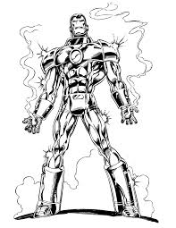 Small Picture Marvels Iron Man Coloring Page H M Coloring Pages