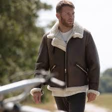 b 9 sheepskin jacket