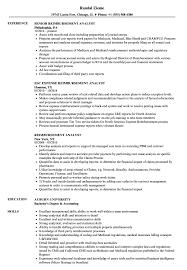 Reimbursement Analyst Sample Resume Reimbursement Analyst Resume Samples Velvet Jobs 1