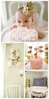 Ava's Floral First Birthday. First Birthday Party Decorations1st ...