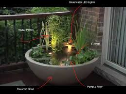 Small Picture water gardens Patio Water Garden Small water feature gardens