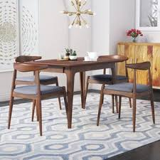 High end dining room furniture Federal Style Quickview Arhaus Modern Contemporary Dining Room Sets Allmodern
