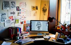 Graphic Designer At Desk Pin By Afda Trihatma On Work Space Workspace Design