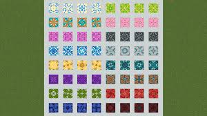 Minecraft Terracotta Patterns