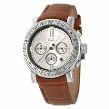 dolce gabbana ladies analog leather strap stainless steel watch dolce gabbana men s chronograph brown leather strap watch dw0485