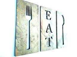 large spoon and fork wall decor spoon and fork wall hanging large wooden spoon and fork