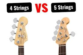 4 String Bass Guitar Chords Chart Differences Between 4 5 String Bass Explained Tone Topics