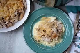 instant pot pork and sauer a