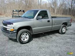 2001 Chevrolet Silverado 1500 Regular Cab 4x4 in Light Pewter ...