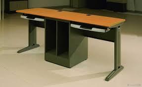 dual computer desk for home office multi monitor computer desk