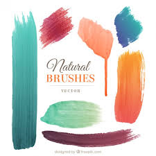 free watercolor brushes illustrator brushes vectors photos and psd files free download