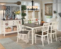 Kitchen Server Furniture Signature Design By Ashley Whitney Square Dining Room Counter