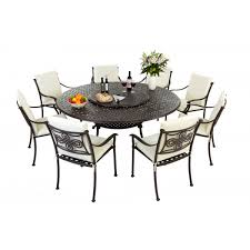 impressive garden furniture round table round patio table and chairs starrkingschool