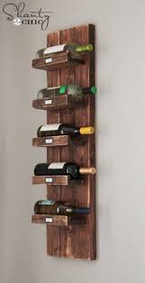 hanging wine rack best 25 wall mounted racks ideas on adorable pleasant 9