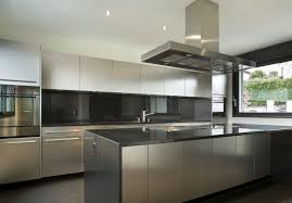 Contemporary Stainless Steel Kitchen 2
