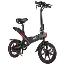 DOHIKER Y1 Electric Folding Bike 14 inch wheels 350W 25km/h ...