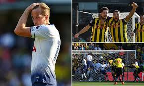 Watford 2-1 Tottenham: Captain Troy Deeney inspires comeback ...