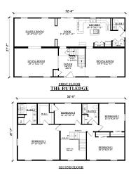 story rectangular house plans amazing 3 bedroom 2 bath 4 stunning