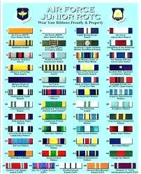 Air Force Ribbon Rack