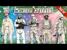 Making Outfits Website Top 5 Best Military Winter Outfits In Gta Online Eachnow Com