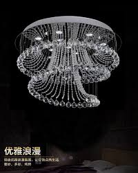 new design modern living room crystal chandelier lights dia80 h80cm contemporary crystal lamp candelabros indoor lighting 3 light chandelier chandelier