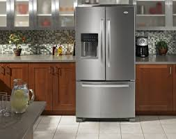 whirlpool gold series refrigerator. gi6farxxy whirlpool gold energy star 26 cu. ft. french door bottom freezer refrigerator - monochromatic stainless steel series