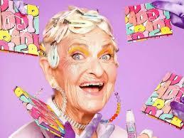 Гламурная 90-летняя бабушка выпустила <b>маску для упругости</b> ...