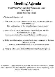 Staff Meeting Agenda Why Your Nonprofit Needs Meeting Agendas School Leadership And School 10