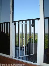 sliding glass door kids gate door gate