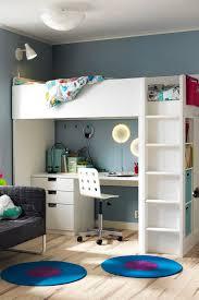 stuva loft bed combo w 2 shlvs 3 shlvs white