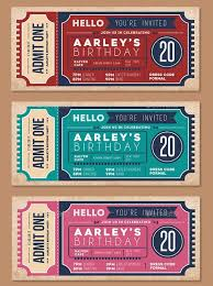 Invitation Ticket Template 100 Print Ready Ticket Templates PSD for Various Types of Events 78