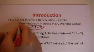 free cash flows example free cash flow to firm example youtube