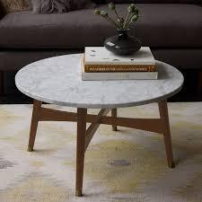 reeve mid century coffee table marble