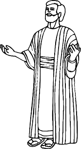 Prayer Apostle Paul Coloring Page Wecoloringpagecom