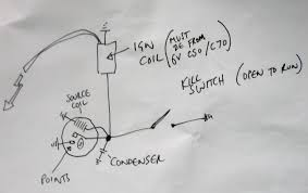 ac generator troubleshooting c90club co uk ignition system wiring for 6v c50 and c70 engines