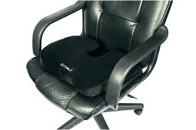 using a lumbar support for your office chair pillow size
