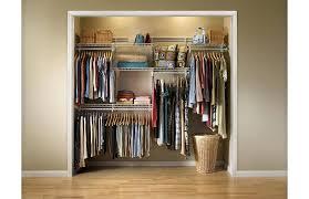 closetmaid 5 to 8 closet organizer closetmaid shelftrack 5 ft 8 ft closet organizer kit with