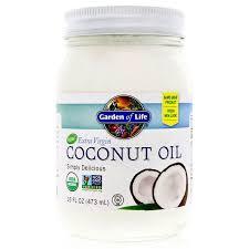 garden of life raw extra virgin coconut oil 16 fl oz 473 ml