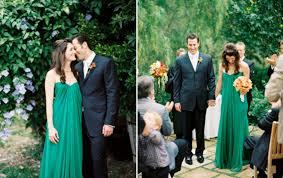 green wedding dress 02