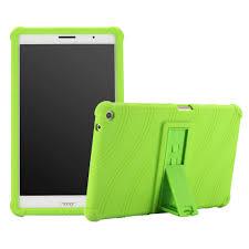 Trẻ Em Chống Sốc Đứng Bao Da Ốp Lưng Cho Huawei MediaPad T3 8.0 KOB L09 KOB  W09 Ốp Lưng Máy Tính Bảng Cho Huawei T3 8 Tôn Vinh Phát miếng Lót