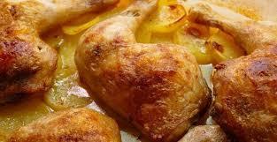 Great Muslos De Pollo Al Horno Con Patatas ¡Receta Deliciosa Con 5 Ingredientes!