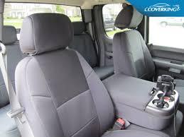 gmc sierra coverking neosupreme custom fit front seat covers