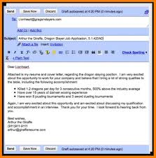 Email Coverter For Job Application Resume Examples Free Inside