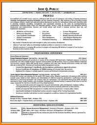Hr Resume Sample 7 Amazing Human Resources Resume Examples