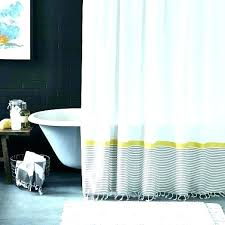 black and white stripe shower curtain black stripe shower curtain bathroom classic style with black and