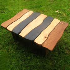 funky wood furniture. Slate And Oak Table Funky Wood Furniture U