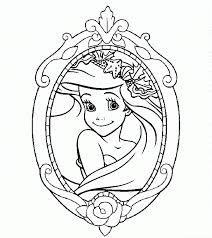 Disney Princess Coloring Pages Coloringrocks