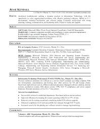 Information Technology It Resume Sample Company Profile Template Pdf ...